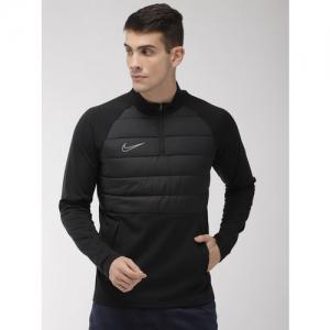 Nike Men Black Solid AS M NK DRY ACD DRIL Football Sweatshirt