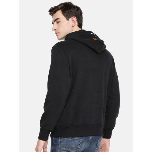 Puma Unisex Black Printed HH Hoody Sweatshirt