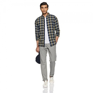 United Colors of Benetton MultiColour Checked Cotton casual Shirt