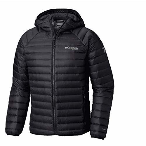 Columbia Men's Jacket (WO0873-010- Black_XXL)