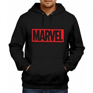 Mythili Essentials Unisex Super Hero Marvel Printed Cotton Hoodies | Superhero Sweatshirt |Endgame/Printed Red Hoodie/Graphic Printed Hoodie/Hoodie for Men &