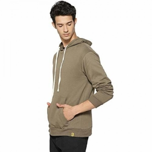Campus Sutra Full Sleeve Cotton Hooded Sweatshirts or Hoodie for Men