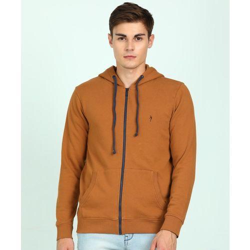 Indian Terrain Full Sleeve Solid Men Sweatshirt