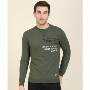 Peter England University Full Sleeve Printed Men Sweatshirt