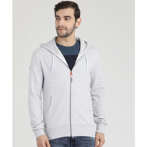 Superdry Full Sleeve Solid Men Sweatshirt