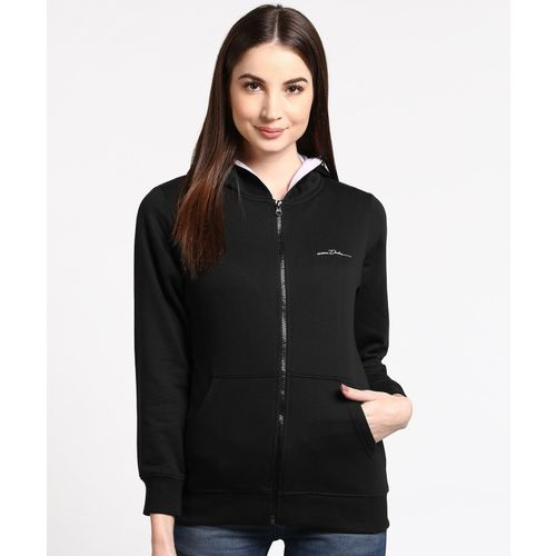 Duke Full Sleeve Solid Women Sweatshirt