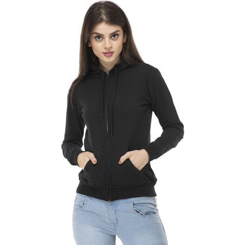 AAKRITHI Full Sleeve Solid Women Sweatshirt