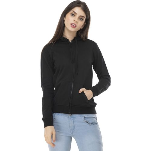 AAKRITHI Full Sleeve Solid Women Sweatshirt