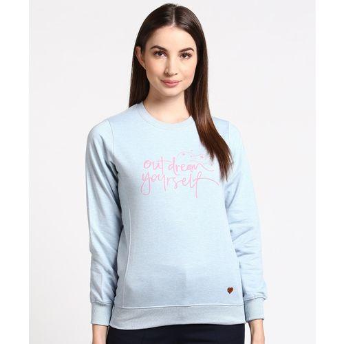 Duke Full Sleeve Applique Women Sweatshirt