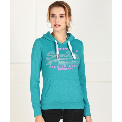 Superdry Full Sleeve Printed Women Sweatshirt