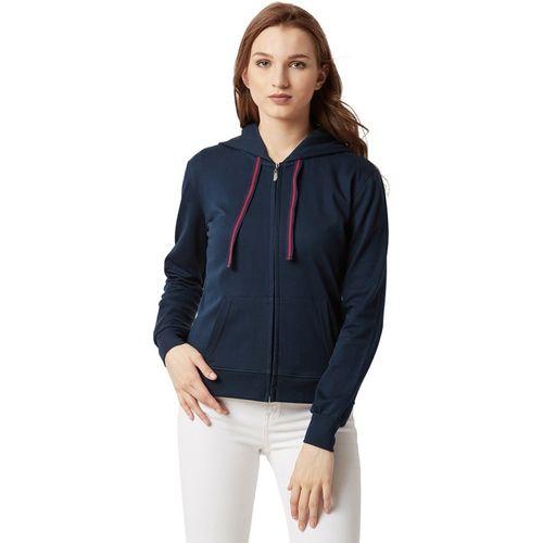 Miss Chase Full Sleeve Solid Women Sweatshirt