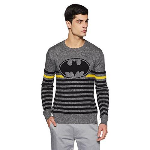 Batman by Free Authority Batman Men's Cotton Sweater