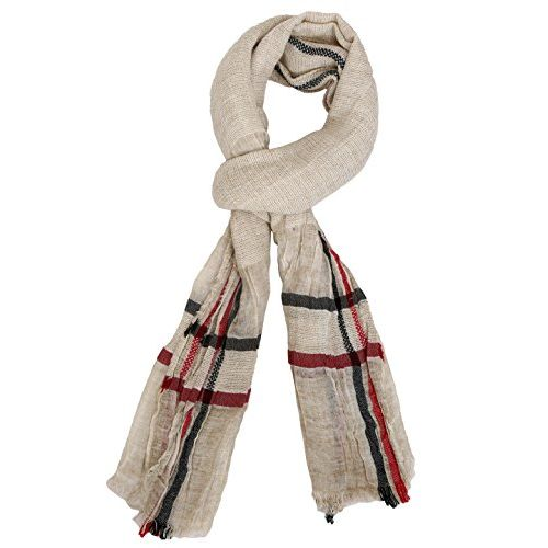 FabSeasons Casual Men's Cotton/Rayon Scarf, Muffler, Shawl and Stole for Winters & all Seasons, Size - 80 * 200 cms