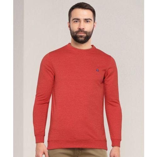 Peter England University Full Sleeve Solid Men Sweatshirt