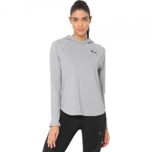 Puma Full Sleeve Solid Women Sweatshirt
