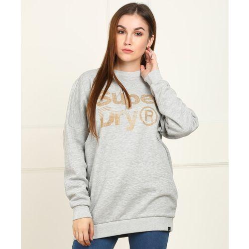 Superdry Full Sleeve Embellished Women Sweatshirt
