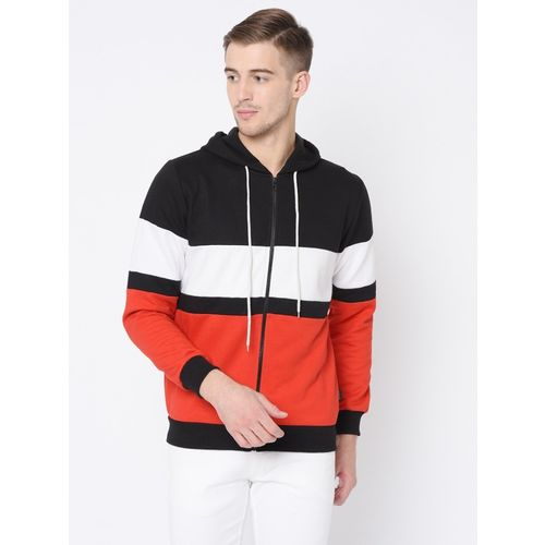 Rigo Full Sleeve Color Block Men Sweatshirt
