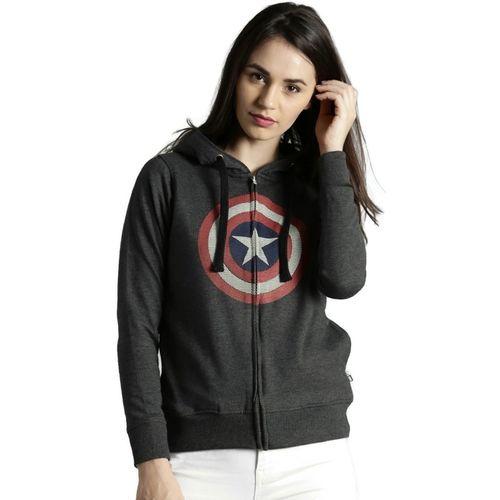 Kook N Keech Marvel Full Sleeve Printed Women Sweatshirt