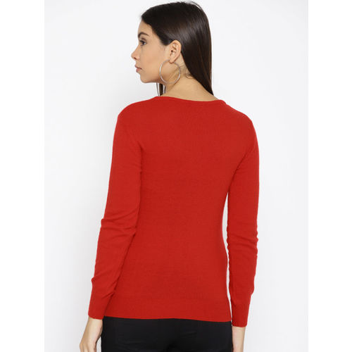 Species Women Red Embellished Pullover