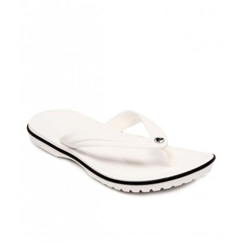 527be9af1d52 Buy Crocs White Rubber Slippers   Flip Flops online