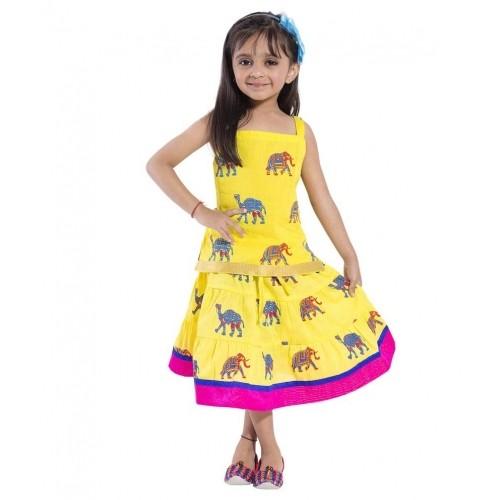 d75e59bb8a Decot Paradise Yellow Lehenga Choli  Decot Paradise Yellow Lehenga Choli ...