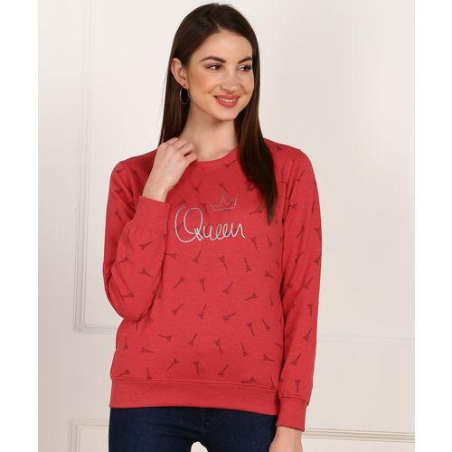Breil By Fort Collins Full Sleeve Graphic Print Women Sweatshirt