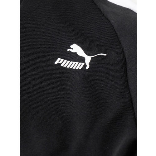 Puma Women Black Classics T7 Track Sweatshirt