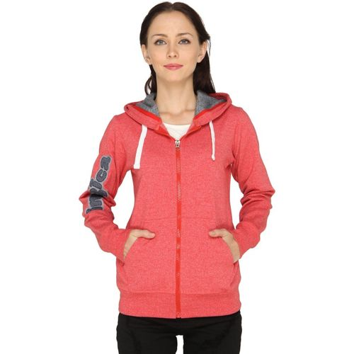 Imagica Full Sleeve Solid Women Sweatshirt