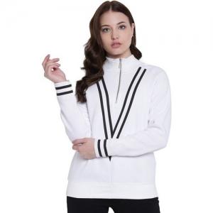Texco Full Sleeve Solid Women Sweatshirt