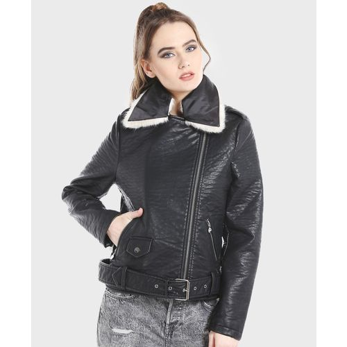 DJ &C by fbb Full Sleeve Solid Women Jacket