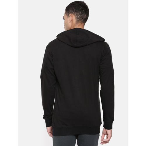 SKULT by Shahid Kapoor Men Black Solid Sweatshirt