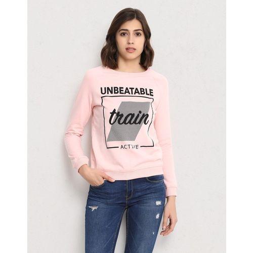 Metronaut Full Sleeve Printed Women Sweatshirt