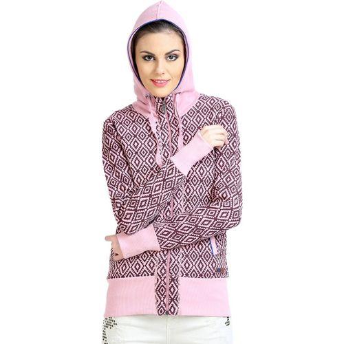 Moda Elementi Full Sleeve Printed Women Sweatshirt
