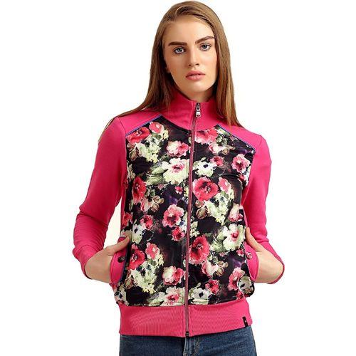Moda Elementi Full Sleeve Floral Print Women Sweatshirt