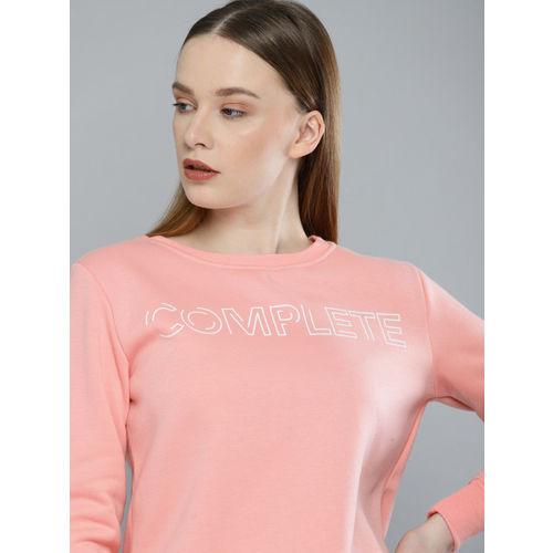 Harvard Women Pink Printed Sweatshirt