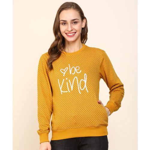 Breil By Fort Collins Full Sleeve Printed Women Sweatshirt