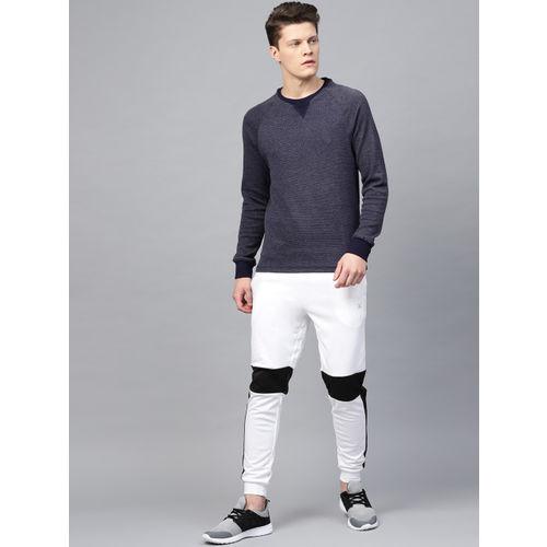 HRX by Hrithik Roshan Men Navy Lifestyle Round Neck Sweatshirt