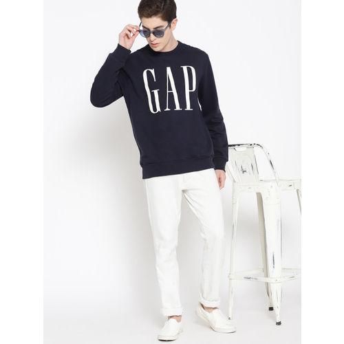 GAP Men's Logo Fleece Crewneck Sweatshirt