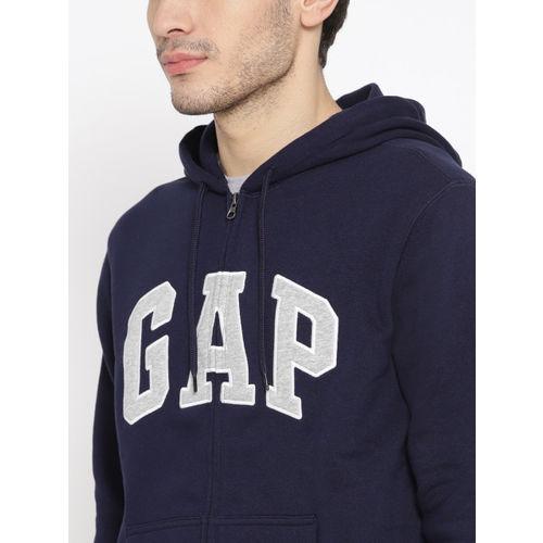 GAP Men's Logo Fleece Zip Hoodie
