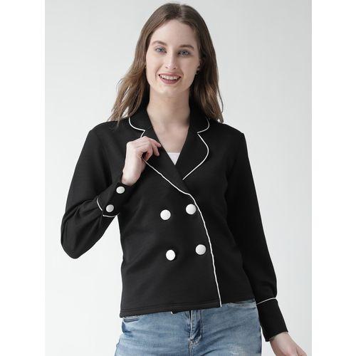 KASSUALLY Full Sleeve Solid Women Jacket