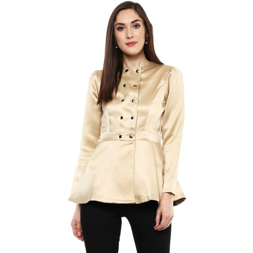 Sassafras Full Sleeve Solid Women Jacket