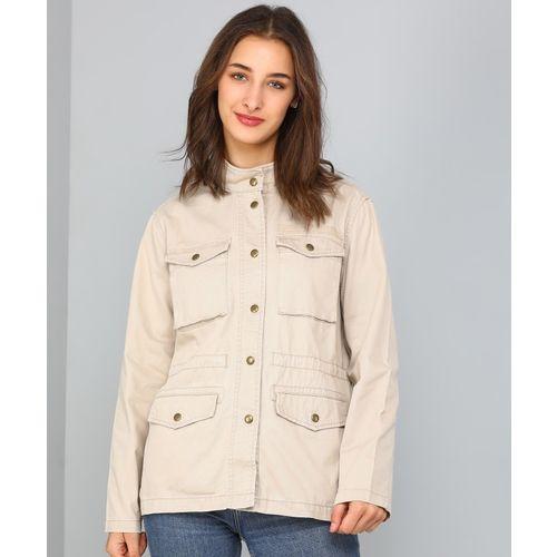 GAP Full Sleeve Solid Women Jacket