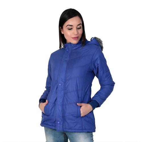 KLAXXY Full Sleeve Solid Women's Jacket