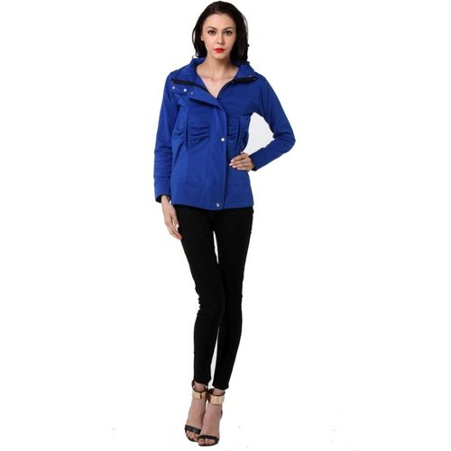 TeeMoods Full Sleeve Solid Women Jacket