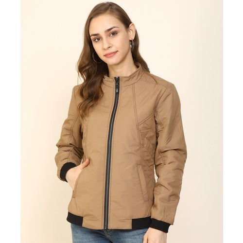 Breil By Fort Collins Full Sleeve Self Design Women Jacket