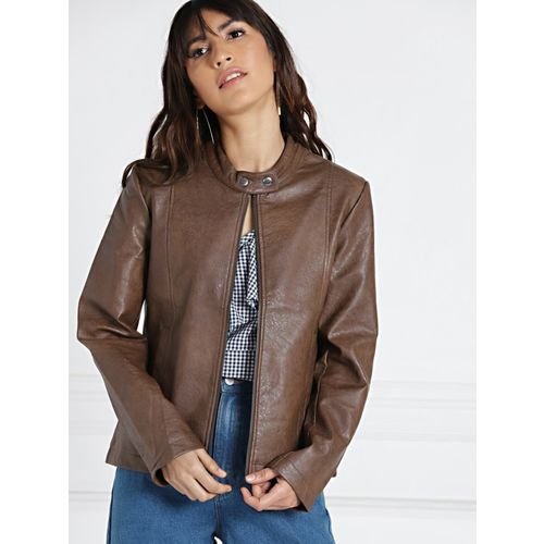 All About You Full Sleeve Textured Women Jacket