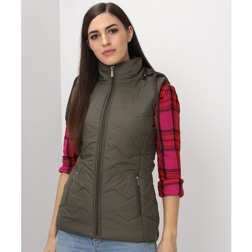 Breil By Fort Collins Sleeveless Solid Women Jacket