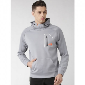 The North Face Men Grey Beyond The Wall Sweat Training Sweatshirt