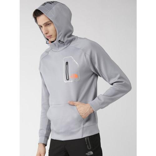 The North Face Men Grey Beyond The Wall Sweat Training Sweatshirt