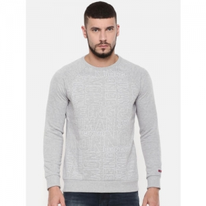 Being Human Clothing Men Grey Sweatshirt
